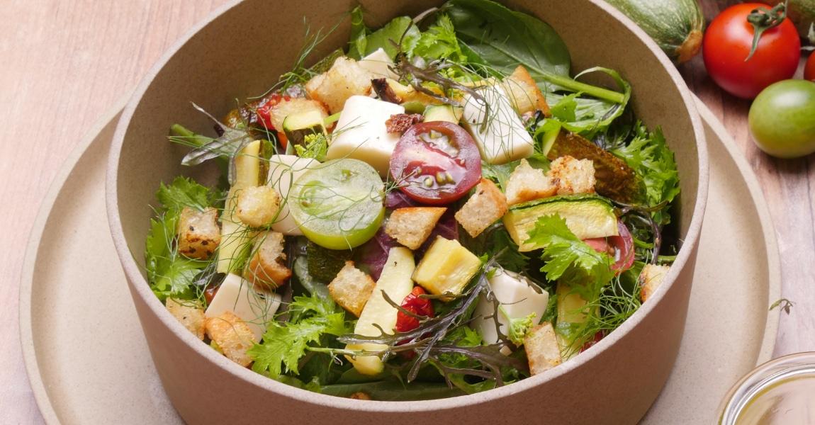 いろどり野菜のファーマーズサラダ